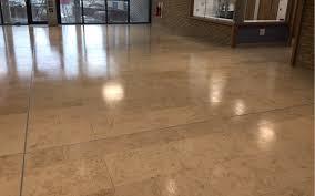 antislip coating applied to a jura limestone floor northern ireland
