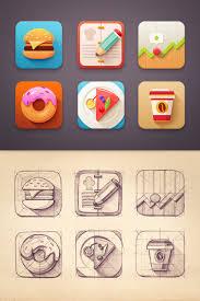 creative furniture icons set flat design. icon set by mike creative mints furniture icons flat design