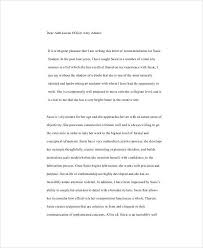 10 Student Reference Letter Templates Free Samples Examples