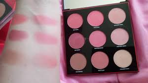 Smash Box Light It Up Contour Blush And Highlight Swatches