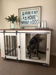 pet crate furniture. Home Design Dog Crate Nightstand Lovely Kk Custom Furniture Charlotte Nc Pet B
