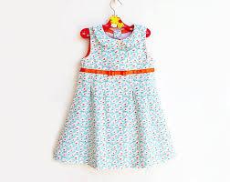 Toddler Dress Patterns New TWEET TWEET Girl Dress Pattern Pdf Sewing Sleeveless Etsy