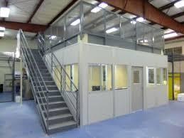 warehouse mezzanine modular office. Modular Office With Mezzan Warehouse Mezzanine P