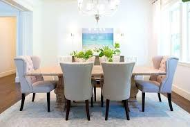 nailhead dining chairs dining room. Nailhead Dining Chairs Reclaimed Wood Trestle Table With Beige Tufted . Room
