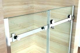 sliding bathtub doors bathtubs tub parts alcove glass door frameless installation enigma