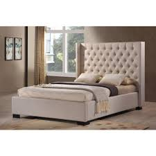 upholstered beds. Simple Beds LuXeo Newport Palazzo Mist King Upholstered Bed To Beds R