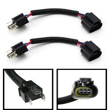 2 ijdmtoy h4 9003 to h13 9008 pigtail wire wiring harness adapters 2 ijdmtoy h4 9003 to h13 9008 pigtail wire wiring harness adapters for h4 h13 headlight conversion retrofit walmart com