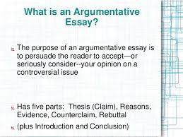 argumentative essay ppt the argumentative essay 2 what is