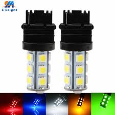 Blue Reverse Lights 2x T25 12v 3156 5050 18 Smd Led Bulbs Cars Front Light Turn Signal Lamp Reverse Lights White Blue Red Green Amber 216lm For Cars