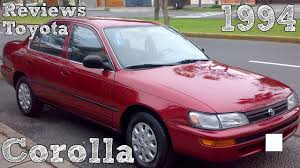 Reviews Toyota Corolla 1994 - YouTube