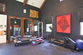 stupefying full wall mirrors home gym decorating ideas images in