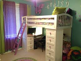 Awesome Loft Beds For Kids With Desk Bed Room Decor Kids ...