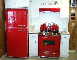 retro looking appliances vintage stove new fridge old style decor 846 660