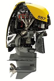 cutaway views of the 557 outboard which is similar to the new 627 model
