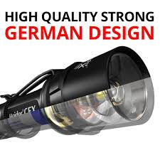 Heider Super Power Light Heider Cfx Super Power Rechargeable Handheld Flashlight
