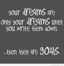 Quote On Dreams And Goals