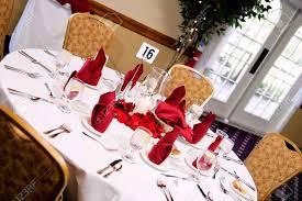 Reception Table Set Up Wedding Reception Formal Table Setup
