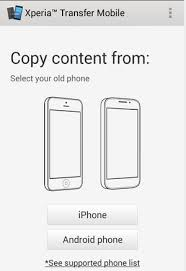 How to transfer Contacts, SMS, from Android to Sony Xperia Phones