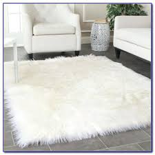 sheepskin area rug stylish awesome faux fur rugs inside throughout animal inspirations sheepskin area rug