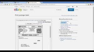 Ebay 12 How To Use Ebay Shipping Labels Reprint Youtube Ebay