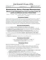 Sample Resume Of An Accountant Here Is An Accounting Resume Sample ...