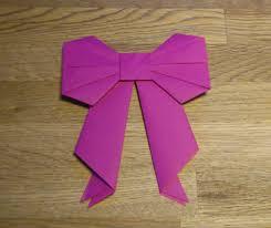 Origami Schleife Aus Papier Falten So Gehts Focusde