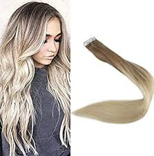 "Amazon.com: <b>Full Shine</b> 18"" Tape in <b>Remy</b> Hair Extentions <b>Real</b> ..."