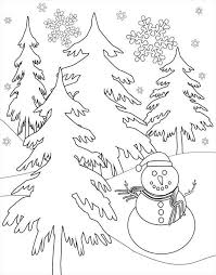 Small Picture free coloring pages winter scenes free coloring pageswinter scenes