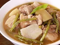 cara membuat Sinigang makanan filipina