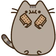 Image result for happy birthday gifs, pusheen