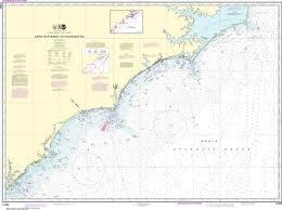 Charleston Nautical Chart Noaa Nautical Chart 11520 Cape Hatteras To Charleston
