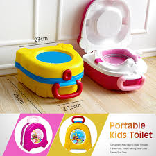 1 x portable travel potty toilet