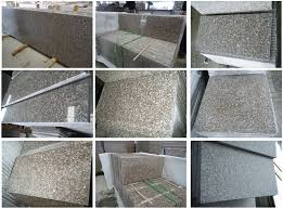 chinese granite g664 tiles flamed polished honed