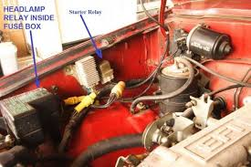 88 toyota pickup when trying to start the starter relay clicks is solenoid piggybacked on starter motor clicking or not