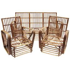 Italian Living Room Set Italian Bamboo Living Room Set From Dal Vera 1970s For Sale At Pamono