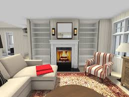 decorate living room with fireplace.  With Living Room Ideas  Feature Wall With Fireplace And Builtin  Shelves In Decorate With Fireplace O