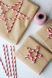 Paper Straw Stars More Geschenke Verpacken Weihnachtlich