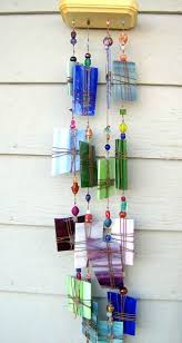 stain glass wind chimes chime stained instructions