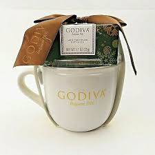 Or maybe a selection of intriguingly flavored blends like highland grog? Godiva Holiday Ceramic Gift Mug Hot Cocoa Gift Set Large Coffee Mug Gold Letters 12 97 Picclick