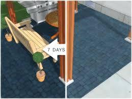 paint concrete patio floor ideas best for slabs