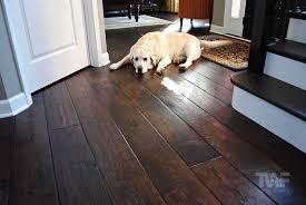 hardwood floors a dark color