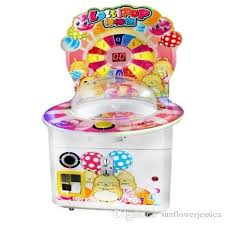 Coin Operated Vending Machines Mesmerizing Modern Coin Operated Amusement Game Machine Lollipop Candy Crane