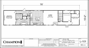 champion mobile home floor plans champion homes single 1998 champion mobile home floor plans
