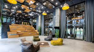 Image Interiors Designed Collaboration Space Flexible Office Industrial Design Kontra Design Office Design Sustainable Commercial Interior Design Kontra Converts An Old Istanbul Factory Into Laid Back Office