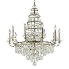 athena 10 light chandelier