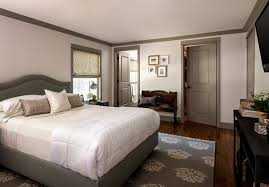 Dark Trim Light Walls Fascinating Master Suite Transitional Bedroom Birmingham By ReDesign