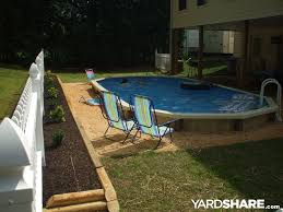 semi inground pool ideas. John\u0027s Semi Inground Pool Ideas