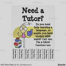 Tutor Flyer Templates Home Tuition Advertisement Sample Tutoring Cool Flyers Form