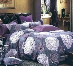 lavender blue purple bedding sets comforter set queen solid light king size silk quilt duvet cover