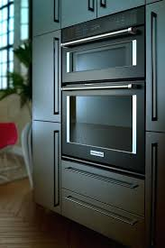kitchenaid wall oven microwave combo single electric convection wall oven with built in microwave black stainless kitchenaid wall oven microwave combo